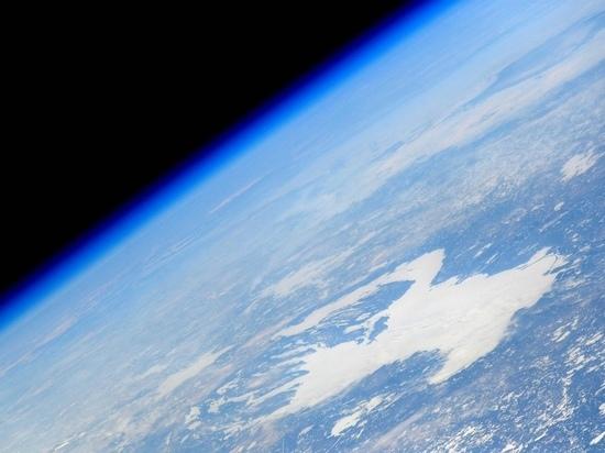 Дым от сегежского ЦБК виден из космоса