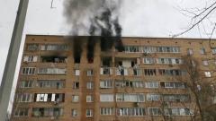 В девятиэтажке в Химках произошел взрыв