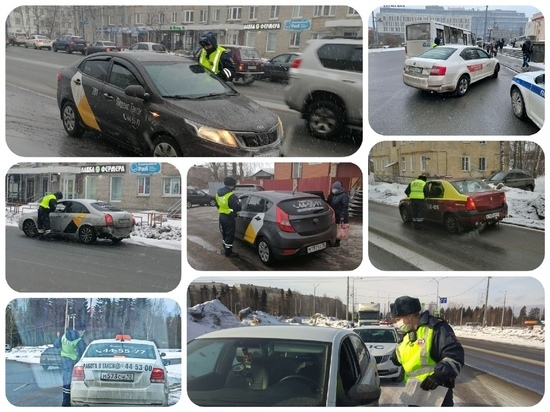 Петрозаводские таксисты пренебрегают правилами безопасности