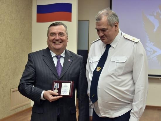 Валерий Сухих отмечен медалью ГУФСИН России