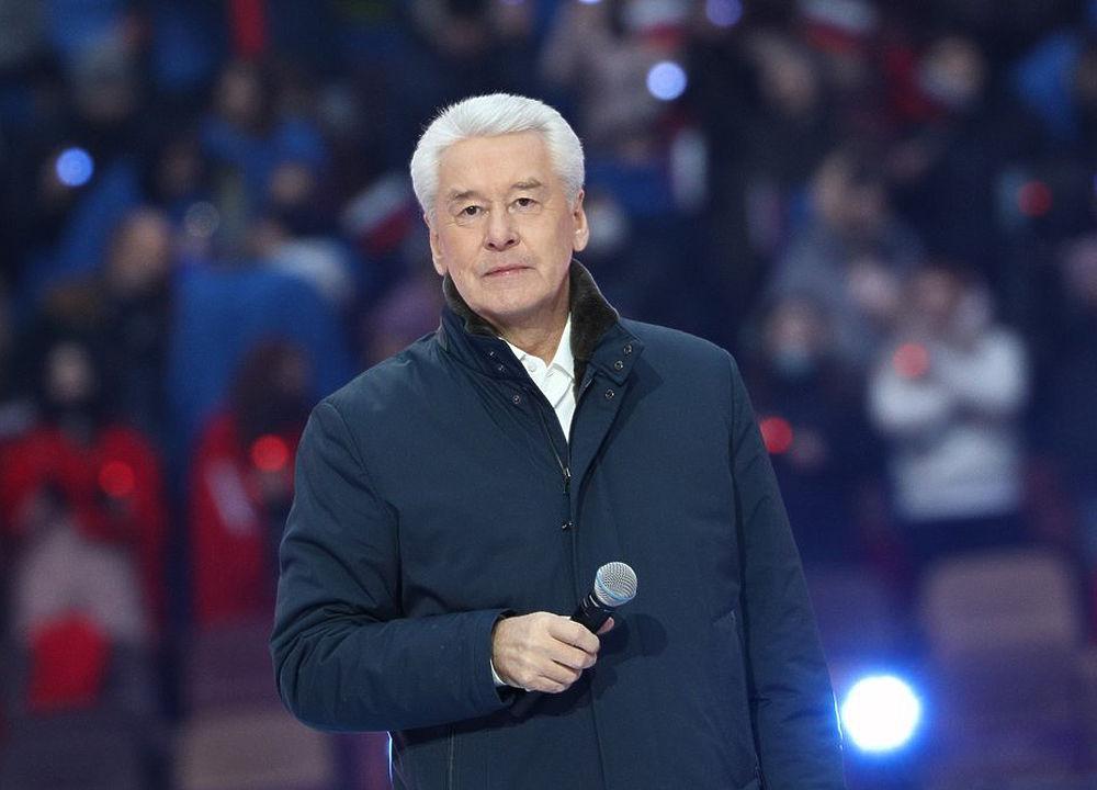 Сергей Собянин посетил концерт «Дни Крыма в Москве» в «Лужниках»