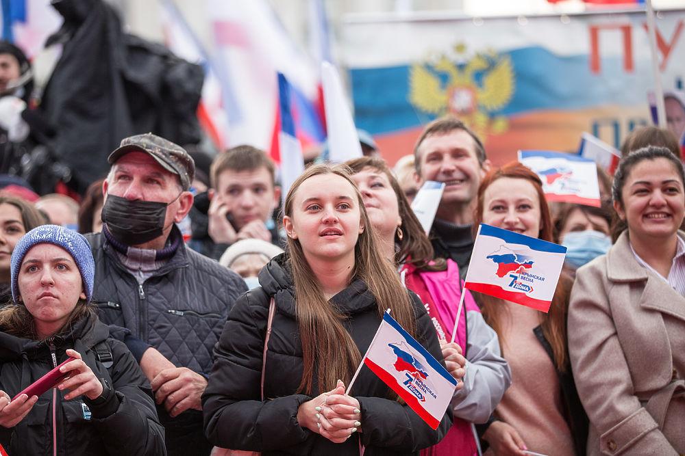 Лица Крымской весны: как в Симферополе отмечали 7-летие воссоединения с Россией