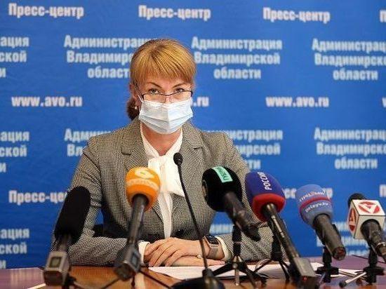 Елена Утемова ушла с поста директора департамента здравоохранения Владимирской области