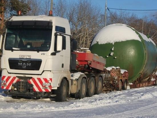 Тяжеловес причинил дорогам Карелии ущерб на 300 тысяч рублей