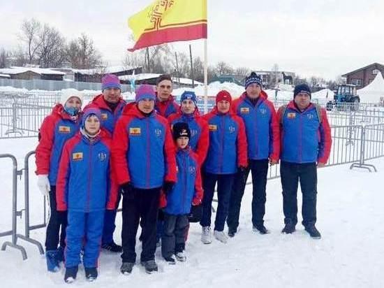 Команда Чувашии заняла третье место в своей группе на Всероссийских зимних сельских играх в Перми