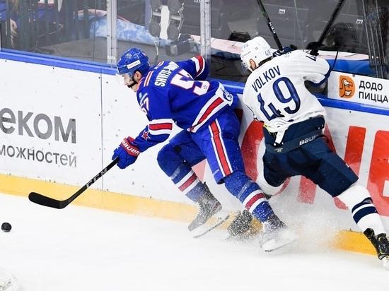 СКА вырвал победу у московского «Динамо» во втором матче плей-офф