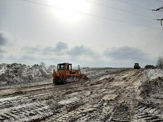 С улиц Йошкар-Олы за зиму вывезено 165 тысяч кубов снега