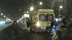 На юге Москвы драка водителей закончилась стрельбой: видео