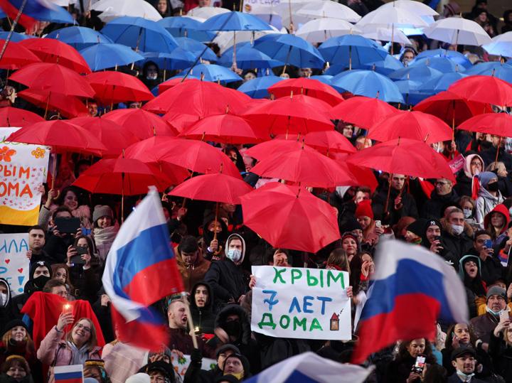 В столице прошел концерт в честь семилетия воссоединения Крыма с Россией