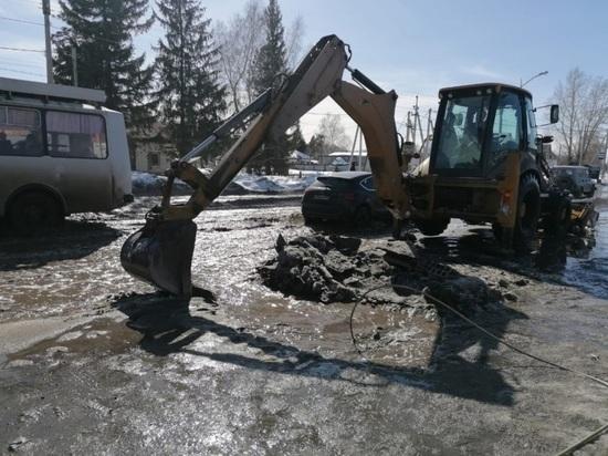За зиму с улиц Барнаула вывезли более 640 тысяч «кубов» снега