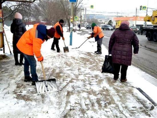 За сутки с улиц Рязани вывезли 2 тысячи кубометров снега