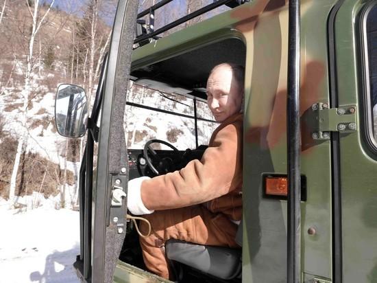 Кремль раскрыл местонахождение ядерного чемоданчика во время поездки Путина в тайгу