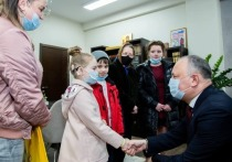 Игорь Додон оказал помощь детям семьи Борденюк