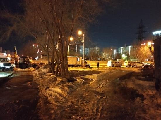 В Барнауле устранили серьезную коммунальную аварию
