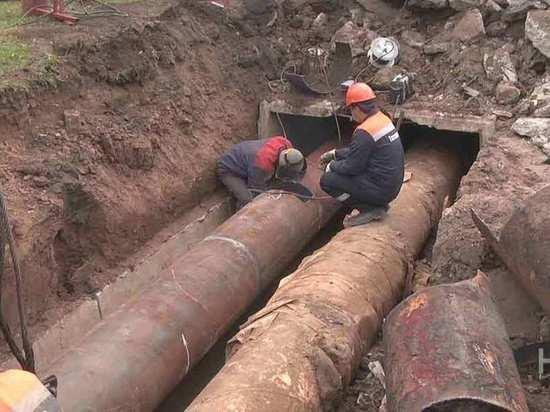 В Казани отремонтируют более 11 километров теплосетей