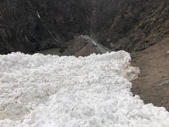 В Цунтинском районе повторно сошла лавина