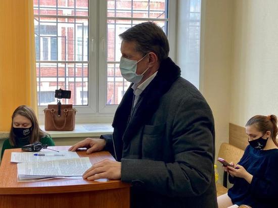 Экс-глава администрации Тулы Авилов дал показания в суде по делу о мене стадиона