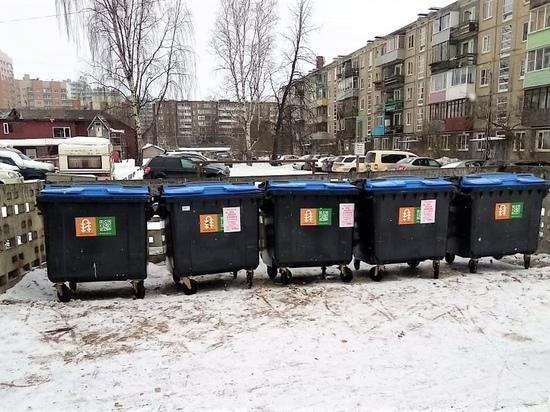 Последнее средство: «Автоспецтранс» пожаловался на рекламу, расклеенную на мусорных контейнерах