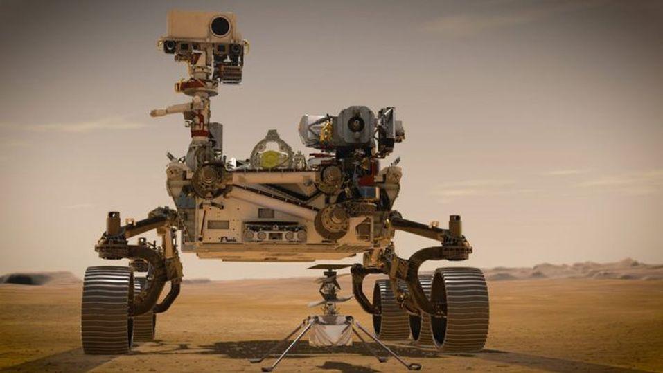 NASA запустит на Марсе вертолет с историческим посланием