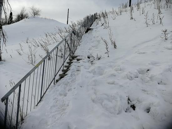 Убирают, но никак не уберут: Петрозаводск очищают от снега