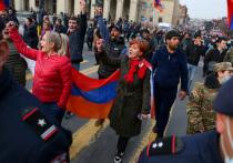Парламент Армении отменил военное положение в стране