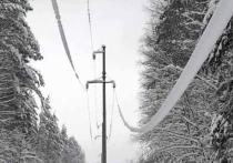 Энергетики устраняют последствия сильного снегопада в предгорных районах Адыгеи