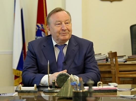 Бывший губернатор Алтайского края Александр Карлин попал под санкции Украины