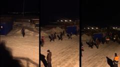 Массовая драка вахтовиков в Мурманской области попала на видео