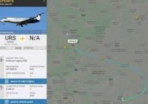 В аэропорту Брянска приземлился частный самолет
