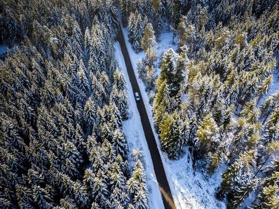 Все федеральные трассы Алтайского края открыли, ураган стих