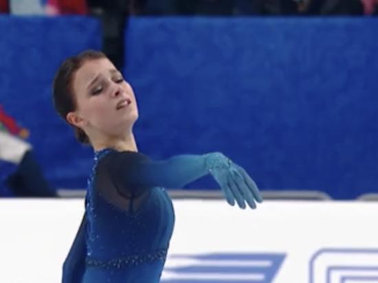 Щербакова выиграла короткую программу на ЧМ по фигурному катанию