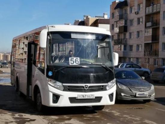 В Туле появился новый автобусный маршрут № 56