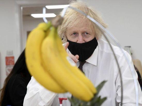 Премьер Великобритании занялся художеством при посещении детского сада