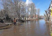 Из-за подтопления домов в Усольском районе ввели режим ЧС