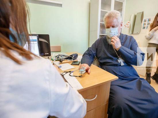 Священнослужители Казанской епархии сделали прививки от COVID