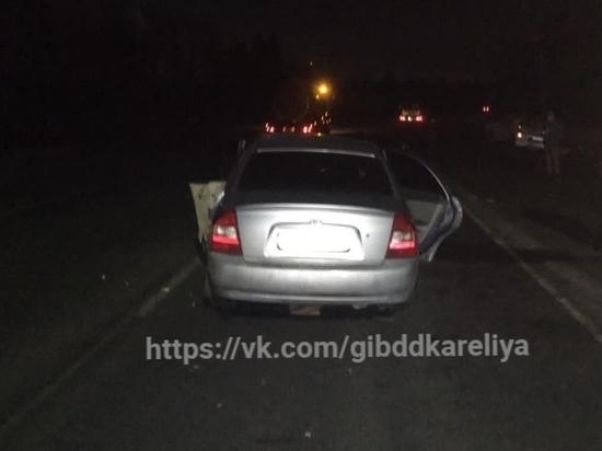 Пожилой водитель устроил массовое ДТП в Карелии