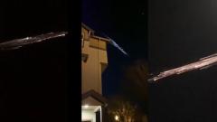 Остатки ракеты Илона Маска красиво сгорели в атмосфере: видео