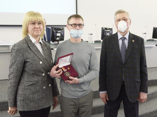 Воронежец награжден высшей ведомственной наградой министерства спорта РФ