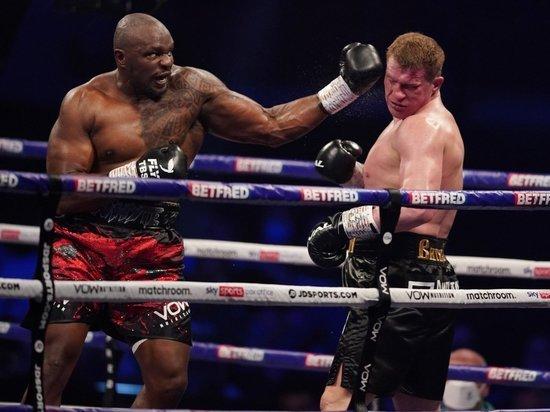 Диллан Уайт отобрал у россиянина титул WBC Interim