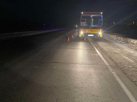 Автобус сбил пешехода на дороге в ЯНАО