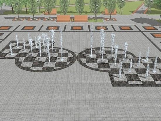 Барнаульские автохамы превратили сквер с пешеходным фонтаном в парковку