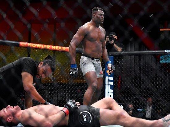 Нганноу жестко нокаутировал Миочича и стал новым чемпионом UFC