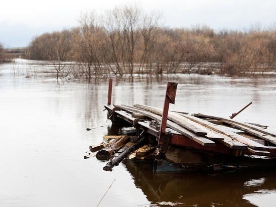 Во время паводка в Томской области может затопить 41 населенный пункт