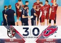 Новоуренгойский «Факел» проиграл волейболистам из Нижнего Новгорода во втором матче плей-офф