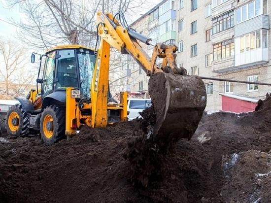 Капитальный ремонт теплосетей в Барнауле начнется на полтора месяца раньше