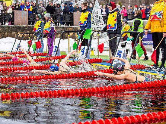 На Чемпионате по зимнему плаванию в Петрозаводске установили 55 рекордов