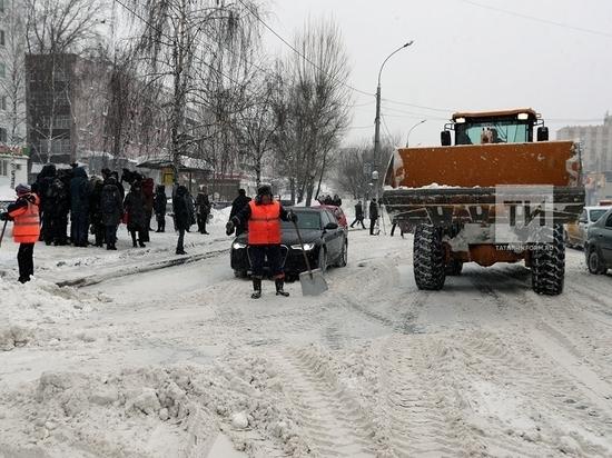 В новом зимнем сезоне жители Казани за уборкой дорог смогут следить онлайн
