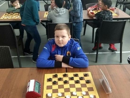 Юный петрозаводчанин попал в десятку сильнейших игроков в русские шашки