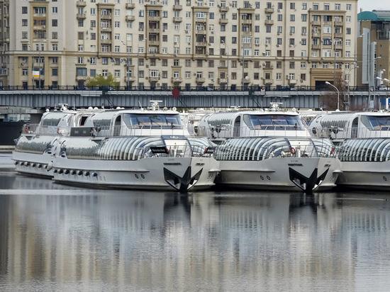 Навигацию по Москве-реке планируют открыть необычно рано