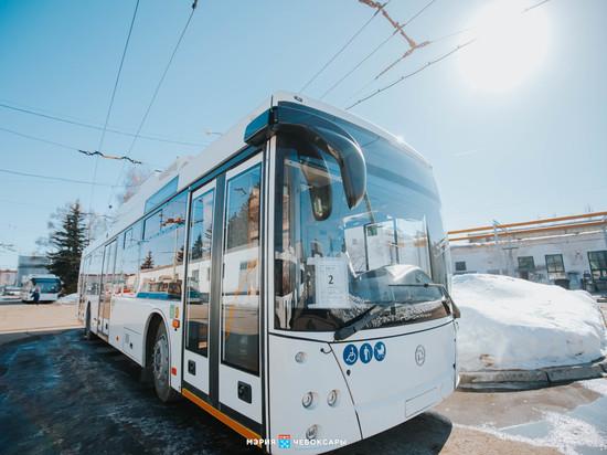 В Чебоксары поступили все 68 новых троллейбусов